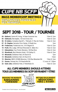 Bargaining Forward Tour